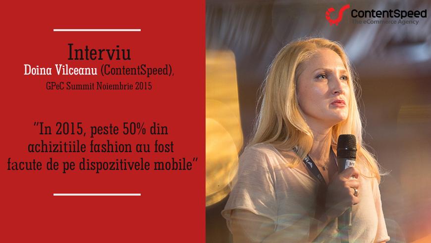 Doina Vilceanu: In 2015, peste 50% din achizitiile fashion au fost facute de pe dispozitivele mobile.