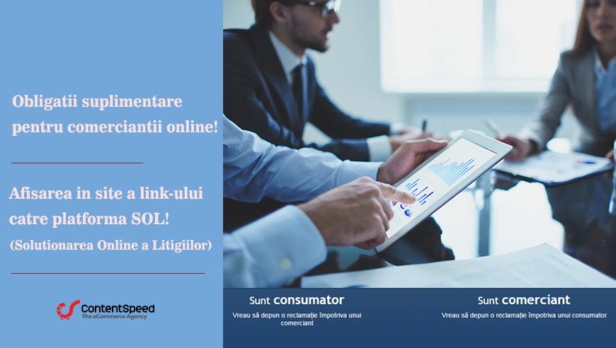 Obligatii suplimentare pentru comerciantii online!