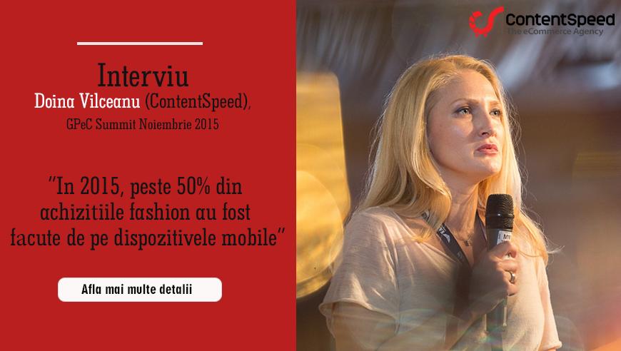 Doina Vîlceanu (Contentspeed): De cele mai multe ori achiziția în magazinele fashion este una impulsivă