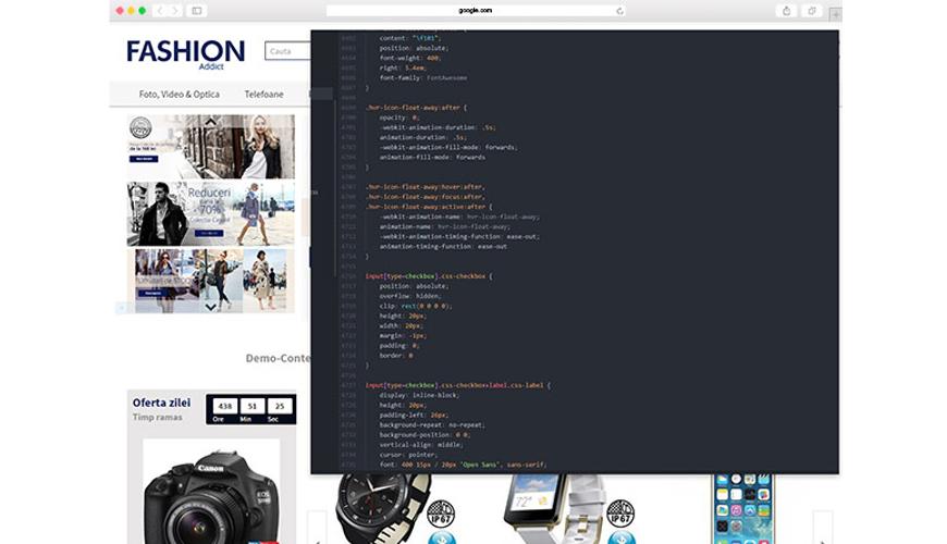 Stii CSS? Acum poti edita layoutul in cele mai mici detalii