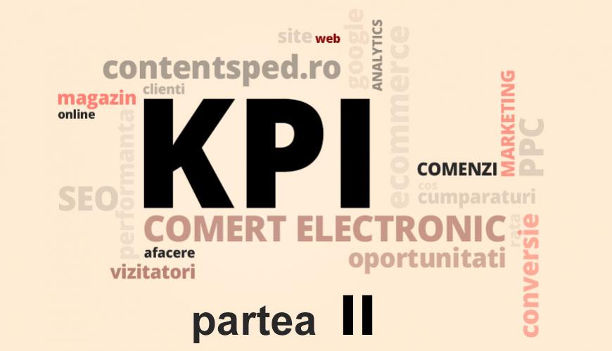 30 Indicatori cheie de performanta (KPI) pentru comertul electronic de urmarit in 2017 - partea II