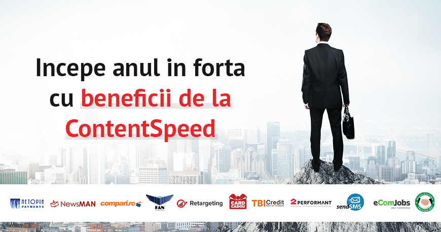 Avantaje Parteneri ContentSpeed