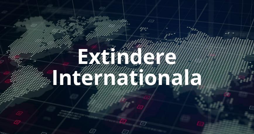 Extindere internationala