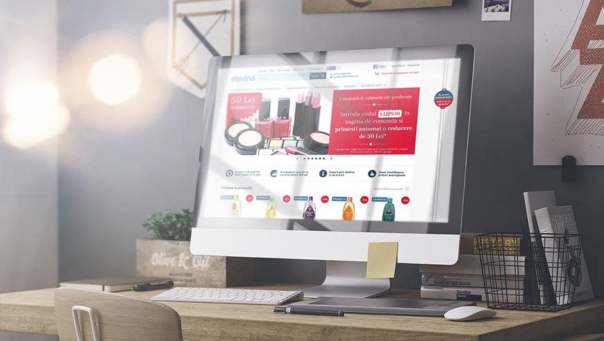 Un nou start-up intra in zona comertului online cu produse cosmetice