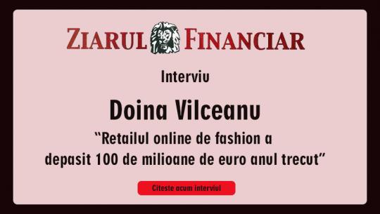 Retailul online de fashion a depăşit 100 de milioane de euro anul trecut