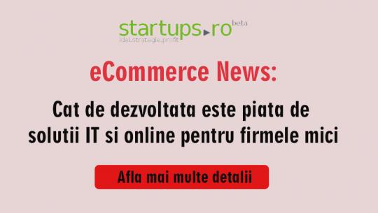 Cat de dezvoltata este piata de solutii IT si online pentru firmele mici