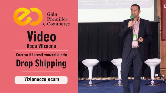 GPEC2013 Conf 14 - Cum sa iti cresti vanzarile prin Drop Shipping - Radu Vilceanu, ContentSpeed
