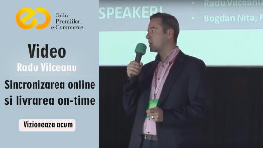 GPeC 2013: Radu Vilceanu - Sincronizarea online si livrarea on-time