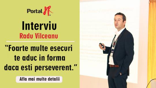 """Radu Vîlceanu – """"Foarte multe eșecuri te aduc în formă dacă ești perseverent."""""""