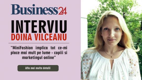 Doina Vilceanu: MiniFashion implica tot ce-mi place mai mult pe lume - copiii si marketingul online