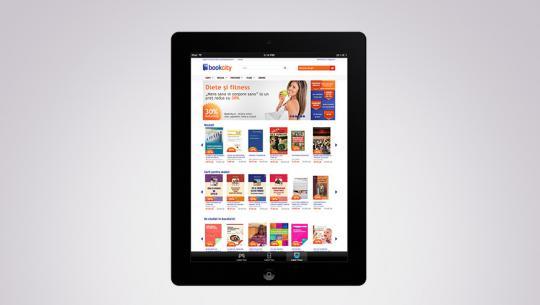 Upgrade si carti digitale | Client: BookCity