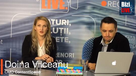 Doina Vilceanu la BiziLive Tv