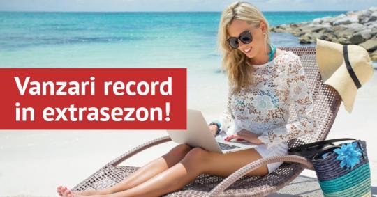 Vanzari record in extrasezon