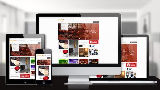 Noul responsive din retailul online dedicat magazinelor de mobila