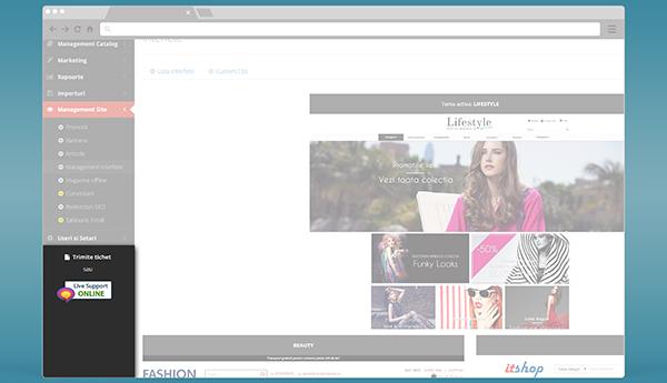 Suport tehnic prin livechat direct din platforma