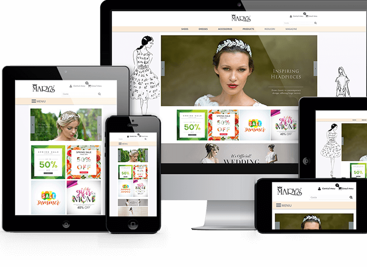 Un magazin online complet functional si absolut gratuit 1 an.